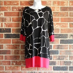 Dressbarn SIGNATURE™ CAMRYN GIRAFFE KNIT DRESS